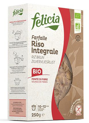 Макароны Безглютеновые, Рисовые, Felicia Pasta, Organic Pasta