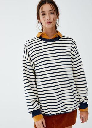 Світшот кофта светер pull&bear
