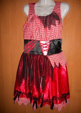 Карнавальный костюм george пиратка разбойница красная шапочка ...