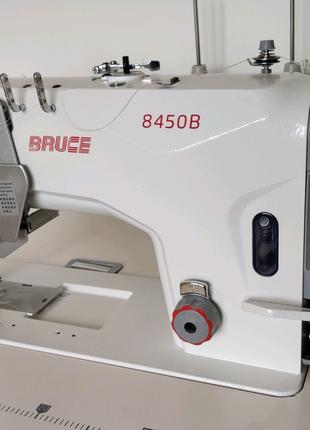 Двухигольная швейная машина Bruce 8450B с отключением игл