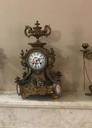 Франция! Антикварный каминный комлект 1855 год