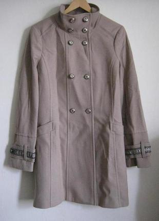 Gaudi новое шерстяное бежевое пальто + 2000 позиций магазинной...