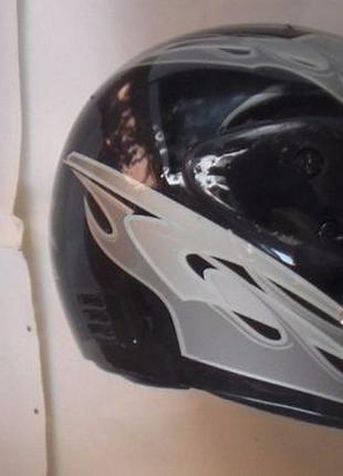 Шлем мотошлем байк защита защитный мотоциклетный Skymoto шишак
