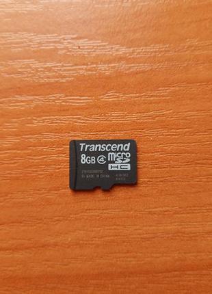 Карта памяти Transcend 8Gb MicroSD C4