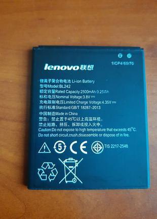 Аккумулятор батарея Lenovo BL242