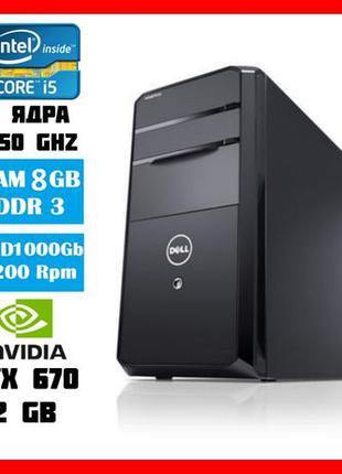 Комп'ютер DELL VOSTRO 470 /Intel Core i5 3450 3,5Ghz /RAM 8GB/...