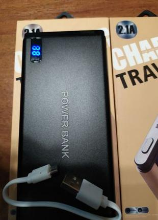 Power Bank 20000 mAh Павер банк внешний аккумулятор с индикатором