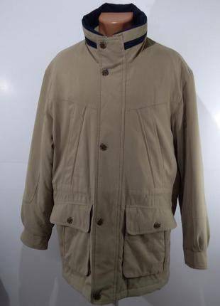 Утепленная мужская куртка осень - зима размер 50