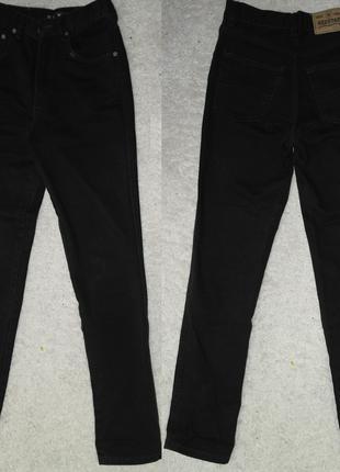 Red star джинсы черные высокая посадка