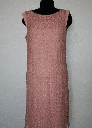 Платье кораллового цвета oliver