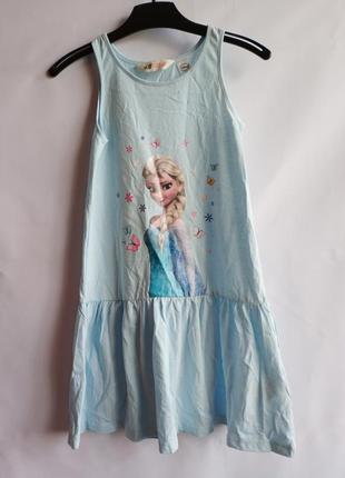 Летнее платье сарафан на девочку шведского бренда h&m  сток из...