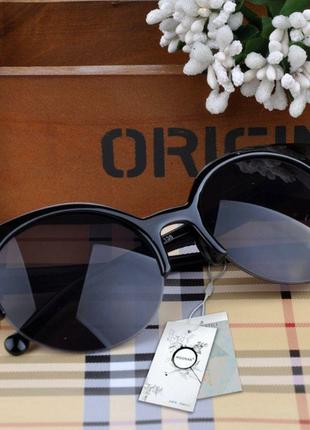 Супер стильные солнцезащитные очки кошачий глаз