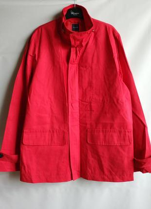 Лёгкая мужская куртка тренч французского бренда promod, m, l,