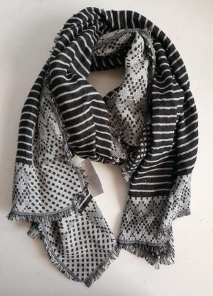 Тёплый женский палантин шарф голландского бренда   c&a   сток ...