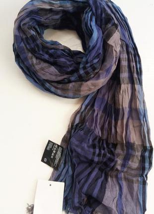 Хлопковый шарф шарфик унисекс голландского бренда c&a сток из ...