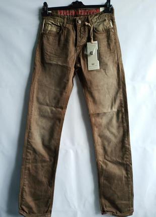 Мужские подростковые джинсы французского бренда benson&cherry,xs