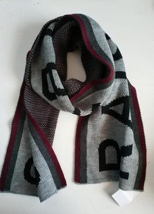 Тёплый мужской шарф голландского бренда   clockhouse c&a