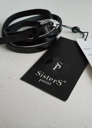 Женский узкий ремень  датского бренда sisters point    ,нюанс