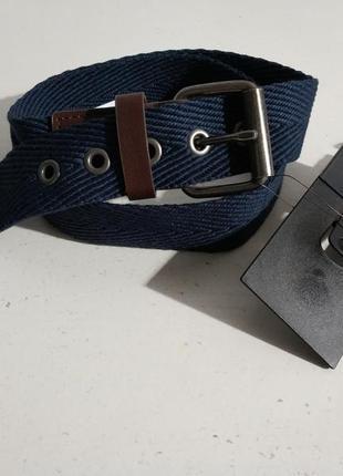 Качественный тканевый ремень унисекс accessoires c&a сток из е...