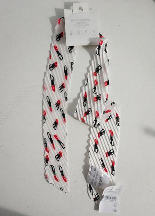 Универсальный шарф-галстук  голландского бренда c&a