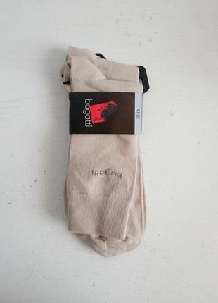 Качественные мужские носки комплект из двух пар bugatti , 47-50