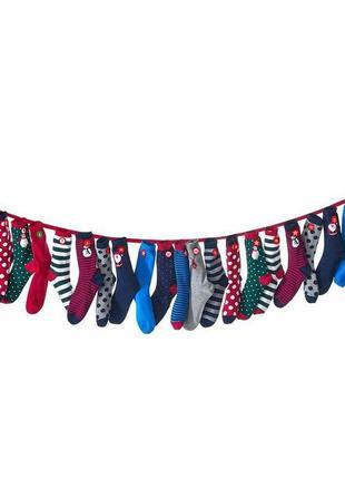 Подарочный набор женских носков носочков немецкого бренда tcm ...