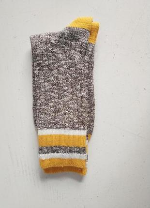 Вязаные мужские носки  датского бренда  jbs