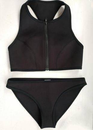 Женский неопреновый купальник пляжный костюм  ,xs-s