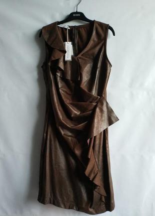 Женское платье под кожу   итальянского бренда   rinascimento, ...