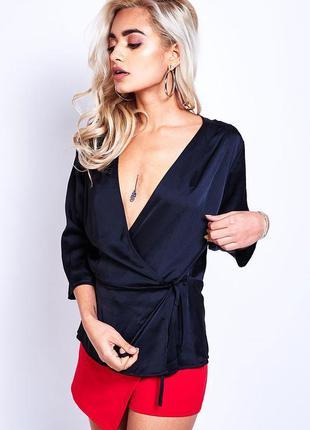 Распродажа! женская блуза на запах датского бренда sisters poi...