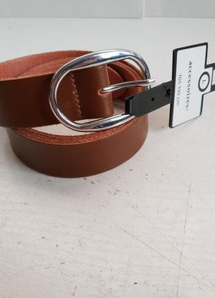Кожаный женский ремень немецкого бренда c&a,  xl
