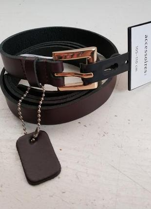 Кожаный женский ремень немецкого бренда c&a, l