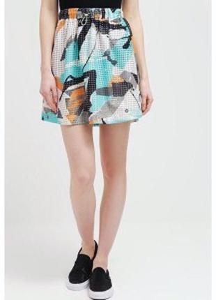 Яркая женская юбка датского бренда numph сток из европы размер m