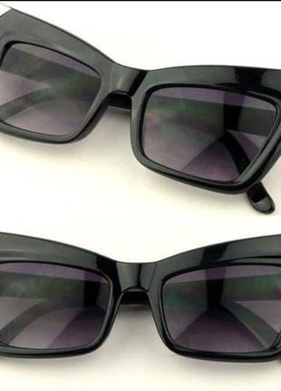Супер очки солнцезащитные кошачий глаз, cat eye