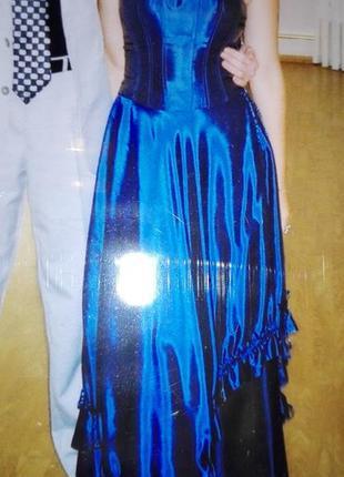 Платье на выпускной из корсета и юбки