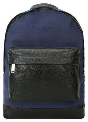 Рюкзак унисекс английского бренда mi-pac canvas tumbled navy/b...