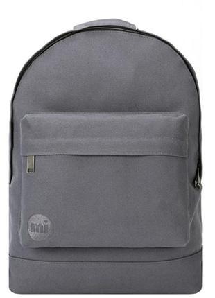 Рюкзак унисекс английского бренда mi-pac nanvas charcoal 74031...