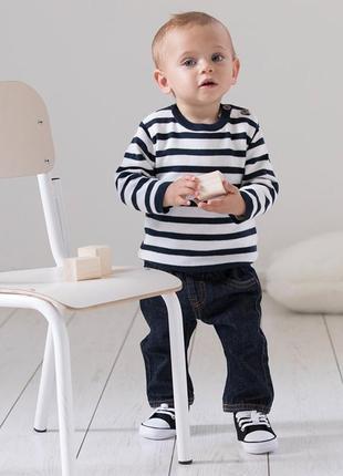 Джинсы на малыша   французского бренда kiabi, 6, мес