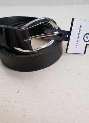Кожаный женский ремень немецкого бренда c&a, l, xl