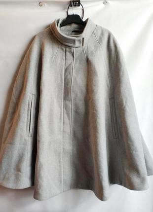 Женское манто пальто батал  шерсть французского бренда kiabi, ...