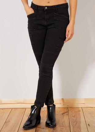 Брендовые джинсы slim fit kiabi 40 сток европа оригинал