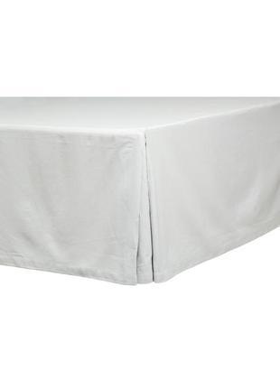 Подзор на кровать из плотной х/б ткани 160 на 200 шведского бр...