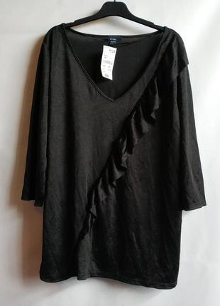 Брендовая блуза, kiabi, 46-48 оригинал франция европа