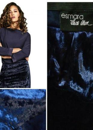 Стильная юбка карандаш. лимитированная коллекция хайди клум дл...
