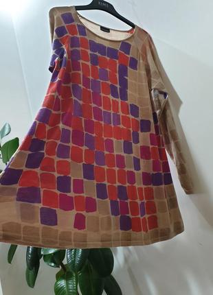 #розвантажуюсь  marimekko платье туника из тонкой шерсти