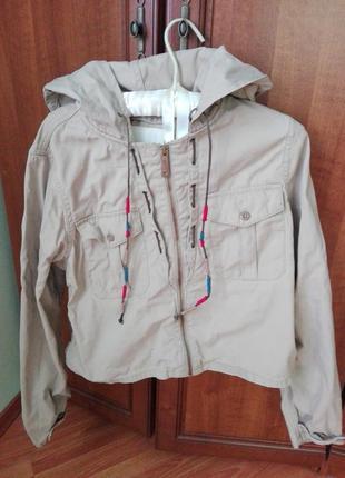 Раритетная куртка парка 100% коттон от ralph lauren оригинал