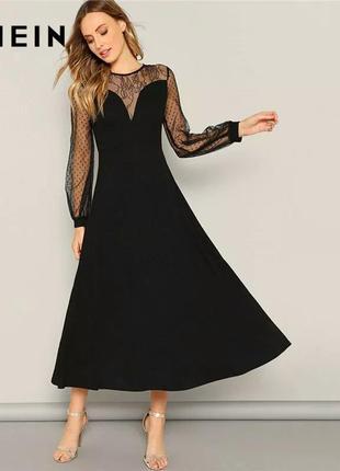 Шикарное нереально красивое нарядное платье на новогоднее shein