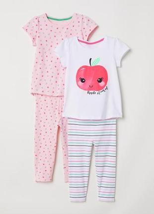 Пижама для девочки 6-8лет от h&m !