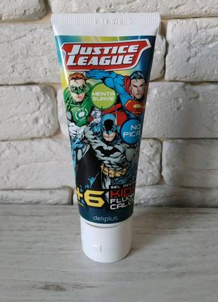 Mercadona Испания зубной гель Justice League Лига справедливости