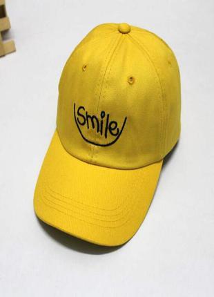 Кепка бейсболка улыбка smile